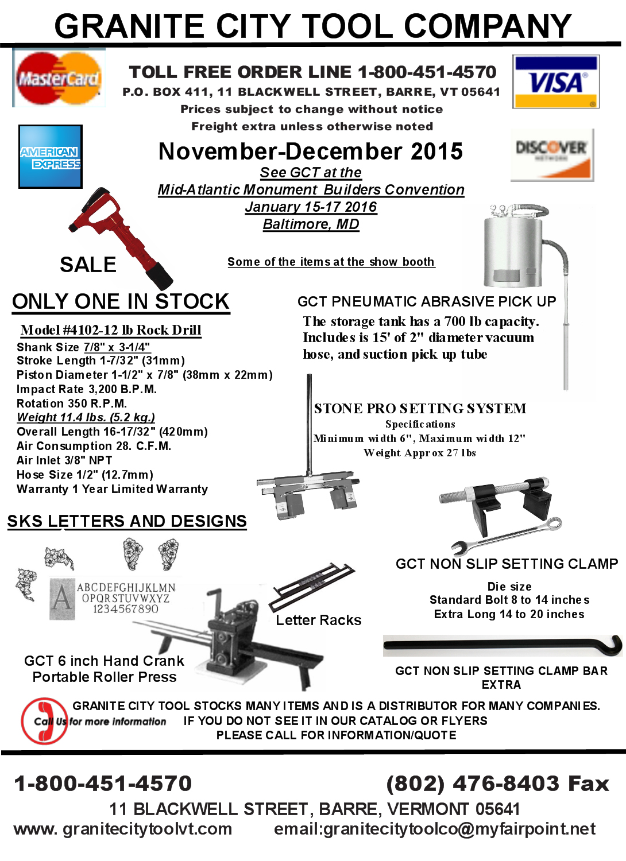 November December Flyer Page 1